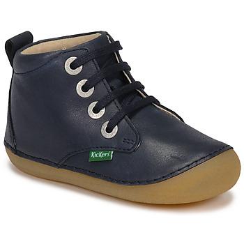 Shoes Children Mid boots Kickers SONIZA Marine