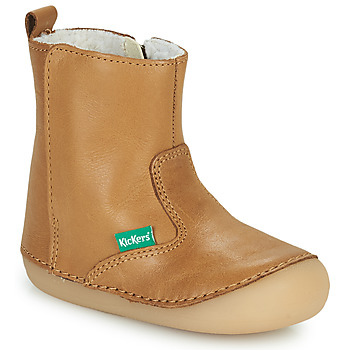 Shoes Girl Mid boots Kickers SOCOOL CHO Camel