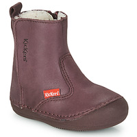 Shoes Girl Mid boots Kickers SOCOOL CHO Purple