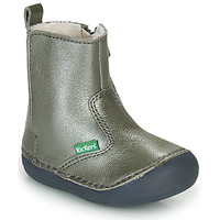 Shoes Girl Mid boots Kickers SOCOOL CHO Silver
