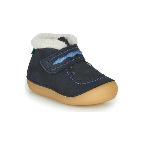 Shoes Girl Mid boots Kickers SOETNIC Marine