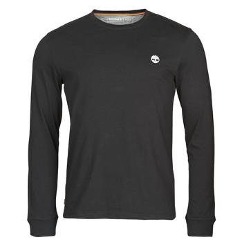 Clothing Men Long sleeved tee-shirts Timberland LS Dunstan River Tee Black