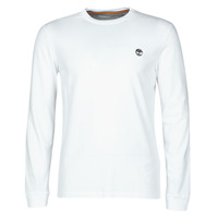 Clothing Men Long sleeved tee-shirts Timberland LS Dunstan River Tee White