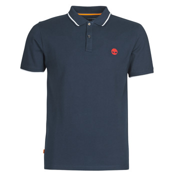 Clothing Men Short-sleeved polo shirts Timberland SS MR Pique tipped Blue