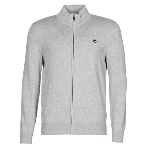Clothing Men Jackets / Cardigans Timberland WILLIAMS RIVER FULL ZIP Grey