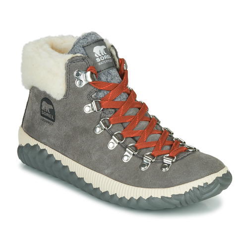 Shoes Women Mid boots Sorel OUT N ABOUT PLUS CONQUE Grey