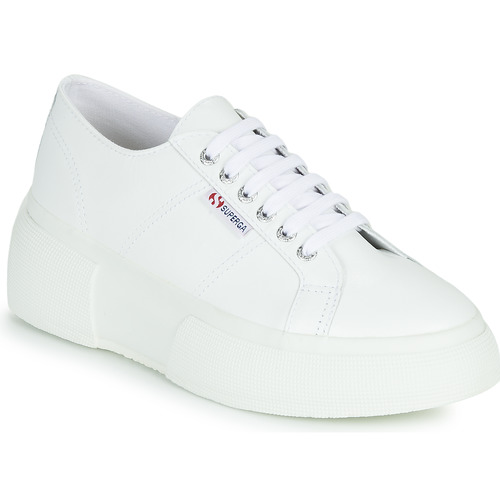 Shoes Women Low top trainers Superga 2287 LEANAPPAW White