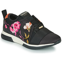 Shoes Women Low top trainers Ted Baker NEMAR  black / Multicoloured