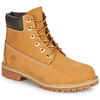 Shoes Men Mid boots Timberland 6 INCH PREMIUM BOOT Wheat / Nubuck