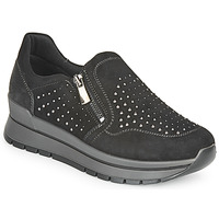 Shoes Women Low top trainers IgI&CO DONNA ANISIA Black