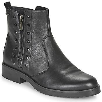 Shoes Women Mid boots IgI&CO DONNA BRIGIT Black