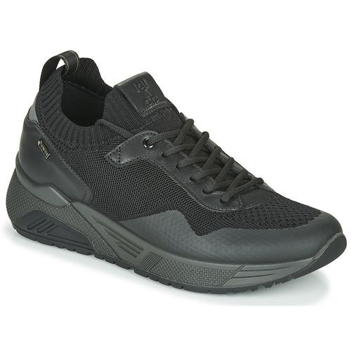 Shoes Men Low top trainers IgI&CO UOMO SETUP GTX Black