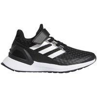 Shoes Children Running shoes adidas Originals Rapidarun White, Black