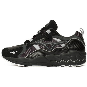 Shoes Men Low top trainers Mizuno Wave Rider 1 Black, Grey, Graphite