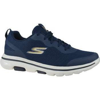 Shoes Men Low top trainers Skechers GO Walk 5 Squall Navy blue