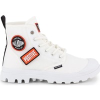 Shoes Men Hi top trainers Palladium Pampa HI Change White