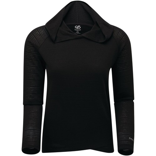 Clothing Women Sweaters Dare 2b RESULT Lightweight Long-Sleeved T-Shirt Black