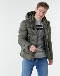 Clothing Men Duffel coats Teddy Smith B-OVER Kaki