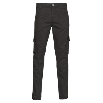 Clothing Men 5-pocket trousers Teddy Smith BATTLE Black