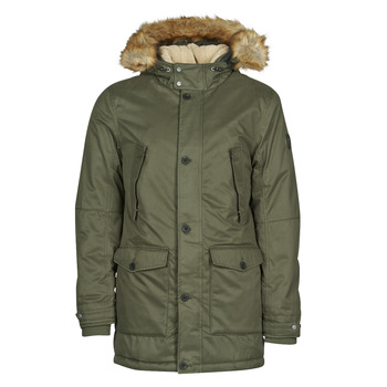 Clothing Men Parkas Teddy Smith P-HAROLD Kaki