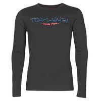 Clothing Men Long sleeved tee-shirts Teddy Smith TICLASS BASIC M Black