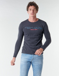 Clothing Men Long sleeved tee-shirts Teddy Smith TICLASS BASIC M Marine