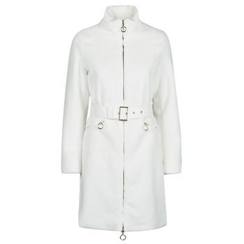 Clothing Women Coats Marciano MARBREE FUR COAT Cream