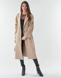 Clothing Women Coats Marciano DAIMON COAT Beige