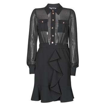 Clothing Women Short Dresses Marciano CAROL SHORT DRESS Black
