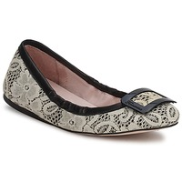 Shoes Women Flat shoes Fornarina LYZA  black / White / pink / Wos / Shoe