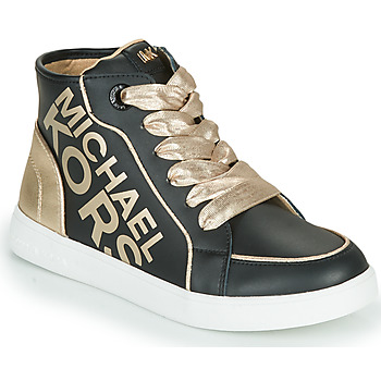 Shoes Girl Hi top trainers MICHAEL Michael Kors JEM HALEY Black