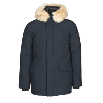 Clothing Men Parkas Schott NELSON20 Marine