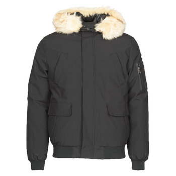 Clothing Men Parkas Schott KEYBURN Black