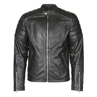 Clothing Men Leather jackets / Imitation leather Schott LC FUEL Black