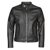 Clothing Men Leather jackets / Imitation leather Schott LCJOE Black