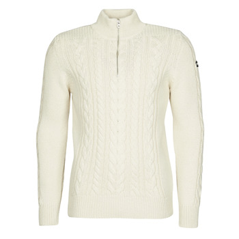 Clothing Men Jumpers Schott PL BRUCE2 Ecru