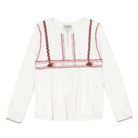 Clothing Girl Tops / Blouses Chipie 8R12014-19 White