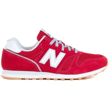 Shoes Men Low top trainers New Balance 373 White,Red