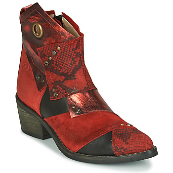 Shoes Women Ankle boots Casta DEMA Red