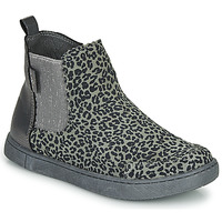 Shoes Girl Mid boots Mod'8 BLANOU Grey