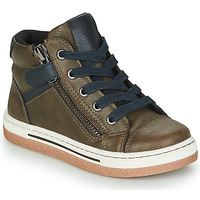 Shoes Boy Hi top trainers Mod'8 KYNATA Kaki / Marine