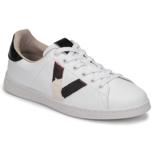 Shoes Women Low top trainers Victoria TENIS PIEL White