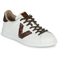 Shoes Women Low top trainers Victoria TENIS PIEL VEG White / Brown