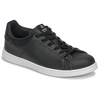 Shoes Women Low top trainers Victoria TENIS PIEL VEG GLITTER Black