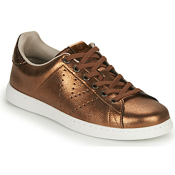 Shoes Women Low top trainers Victoria TENIS METALIZADO Bronze