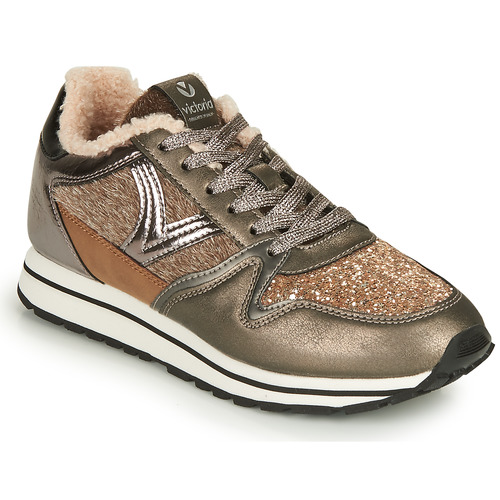 Shoes Women Low top trainers Victoria COMETA MULTI Brown