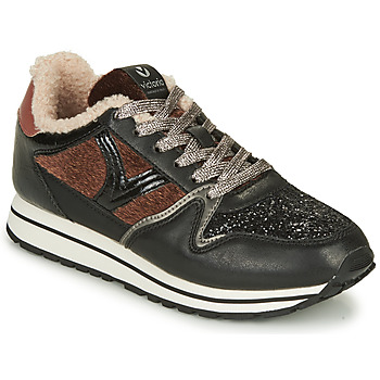 Shoes Women Low top trainers Victoria COMETA MULTI Black
