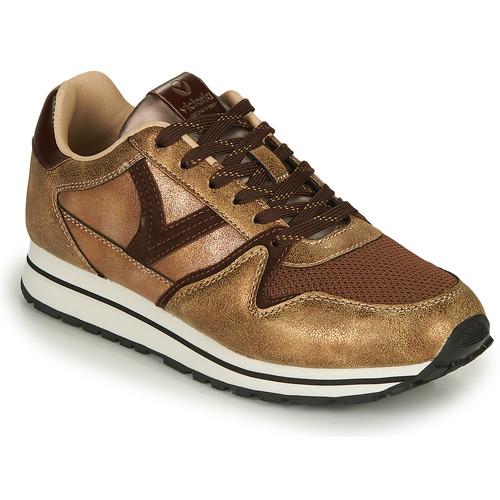 Shoes Women Low top trainers Victoria COMETA MULTI Bronze