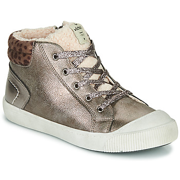 Shoes Girl Low top trainers Victoria HUELLAS METAL Grey