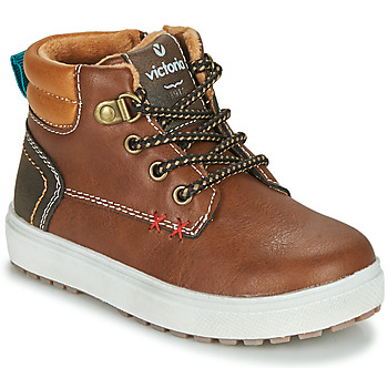 Shoes Boy Low top trainers Victoria PUZZLE  PIEL Brown